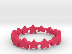 The Stars Shine Brighter | Size 8 in Pink Processed Versatile Plastic