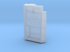 1/56th (28mm) Book shelf insert (01) in Smooth Fine Detail Plastic