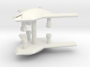 1/285 X-45A UCAV (x2) in White Natural Versatile Plastic
