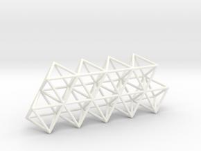 Vega Frame in White Processed Versatile Plastic