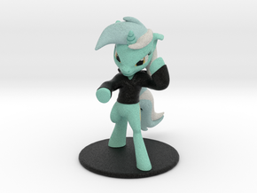 My Little Pony - Lyra Posed (≈85mm tall) in Full Color Sandstone