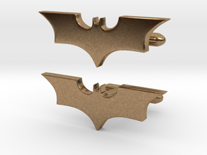 Batman dark knight Cufflinks   in Natural Brass