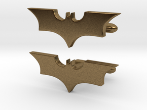 Batman dark knight Cufflinks   in Natural Bronze