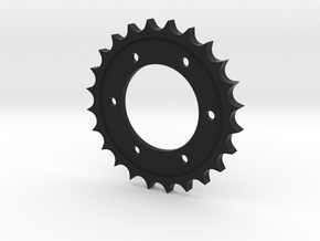 Spitfire Control column Top Sprocket in Black Natural Versatile Plastic