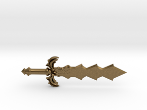 Demon King Sword in Natural Bronze