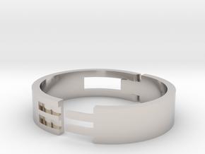 Large Cord Clip in Platinum