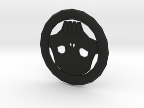 Skull Token in Black Strong & Flexible