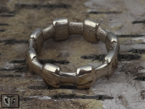 Ring - Crown in Stainless Steel