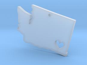 I love Washington Pendant in Smooth Fine Detail Plastic