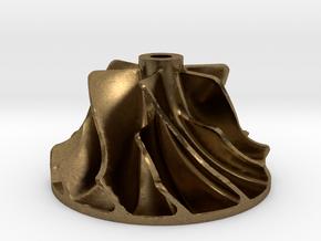 Turbo compressor in Natural Bronze