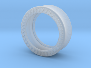 VORTEX10-27mm in Smooth Fine Detail Plastic