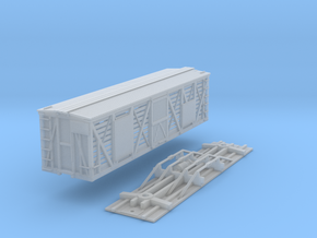 N-Scale D&SL 40000 Series Stock Car Kit in Smooth Fine Detail Plastic
