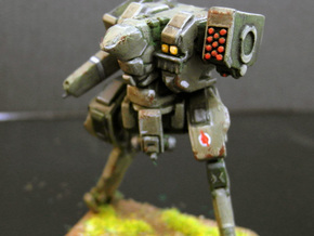 Neugen Battle Walker with autocannon and rocket po in Smooth Fine Detail Plastic