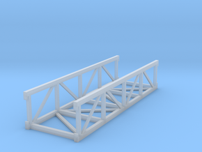'N Scale' - 20 Ft. Long Conveyor Bridge in Frosted Ultra Detail