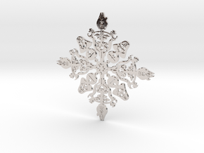 Star Wars Snowflake #1 in Platinum