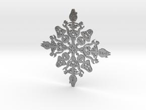 Star Wars Snowflake #1 in Natural Silver