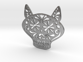 Gato Miron in Natural Silver