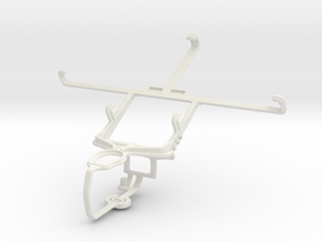 Controller mount for PS3 & Xolo Q1000s in White Natural Versatile Plastic