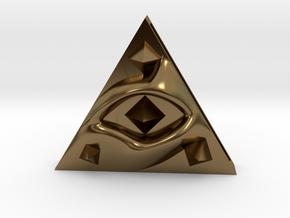 Sacredillumination in Polished Bronze