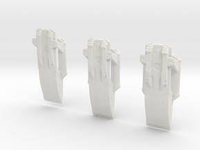 Mammoth Class Prototypex3 in White Natural Versatile Plastic