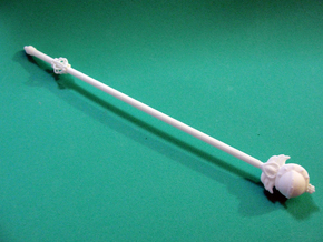 Sailor Moon Cutie staff: 1/6 scale in White Natural Versatile Plastic