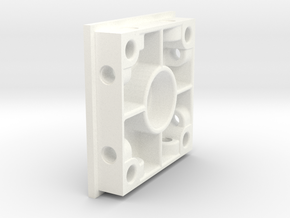 TopPlate V2 for Rotor project - New Design in White Processed Versatile Plastic