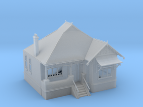 1:87 HO Australian Federation House Design 02 in Frosted Ultra Detail