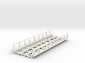 R-165-curve-Y-bridge-track-long-plus-walkway-sp-2a in White Natural Versatile Plastic
