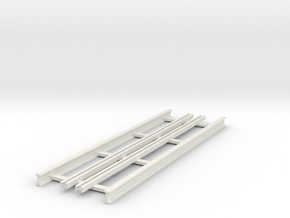 R-9-straight-bridge-track-long-1a in White Natural Versatile Plastic