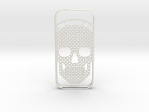 AliveSkull iPhone5 Case in White Natural Versatile Plastic