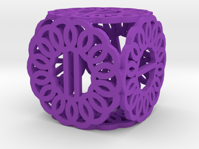 Dice79 in Purple Processed Versatile Plastic