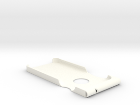 iPhone 6 Safety Whistle Case (v2) in White Processed Versatile Plastic