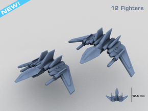 HOMEFLEET Heavy Fighter Group in Frosted Ultra Detail