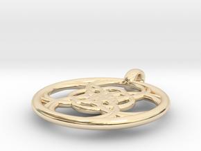 Chaldene pendant in 14K Yellow Gold