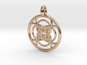 Amalthea pendant in 14k Rose Gold