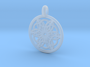 Pasiphae pendant in Smooth Fine Detail Plastic