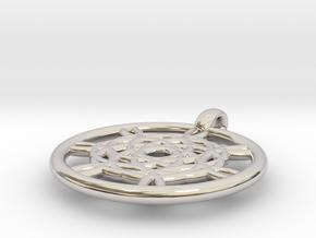 Harpalyke pendant in Platinum