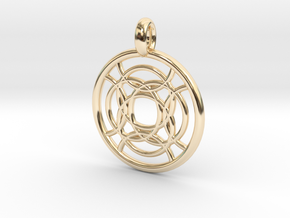 Taygete pendant in 14K Yellow Gold