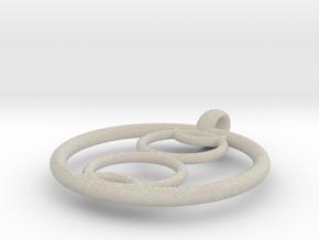 Kalyke pendant in Natural Sandstone