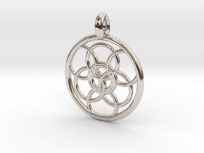 Lysithea pendant in Platinum