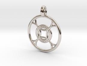 Leda pendant in Platinum