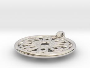 Megaclite pendant in Platinum