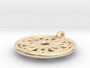 Megaclite pendant in 14K Yellow Gold