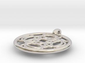 Thelxinoe pendant in Platinum