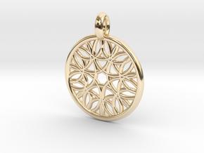 Cyllene pendant in 14K Yellow Gold