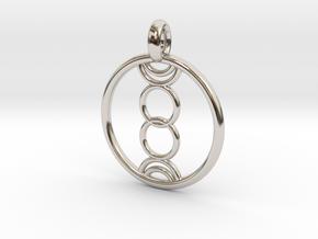 Eukelade pendant in Platinum