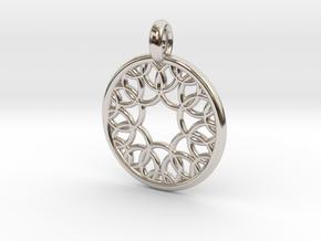 Eurydome pendant in Platinum