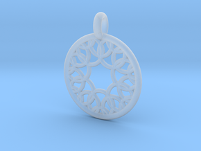 Eurydome pendant in Smooth Fine Detail Plastic