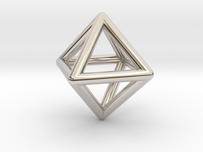 Octahedron in Platinum