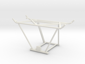 MESA Seat Structure in White Natural Versatile Plastic